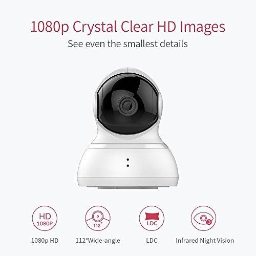历史新低!Xiaomi 小米 Yi 小蚁 360°全景 1080P云台监控摄像机 53.99加元包邮!
