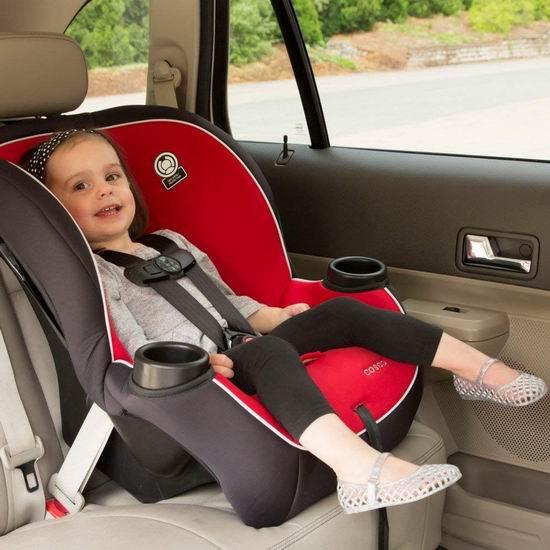 历史新低!Cosco 22174CDFX Apt 成长型儿童汽车安全座椅4折 56.21加元包邮!会员专享!