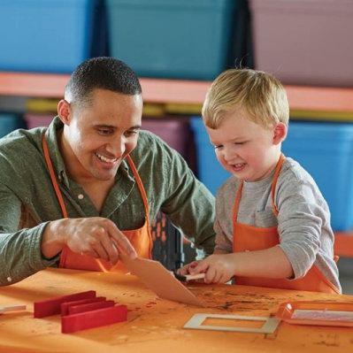 Home Depot 9月份免费儿童手工课,及家庭装修免费课程安排一览!