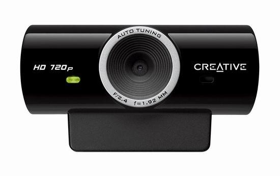 历史新低!Creative Live! Cam Sync HD 720P高清摄像头4.5折 20.21加元!