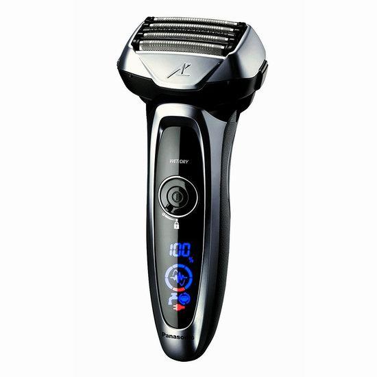 金盒头条:历史新低!Panasonic 松下 Arc 5 ES-LV65 干湿两用 电动剃须刀 190.49加元包邮!