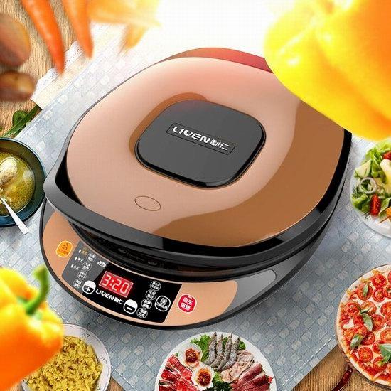 独家:Liven 利仁 双面加热 智能触控 家用电饼铛/煎烤机 84.98加元包邮!