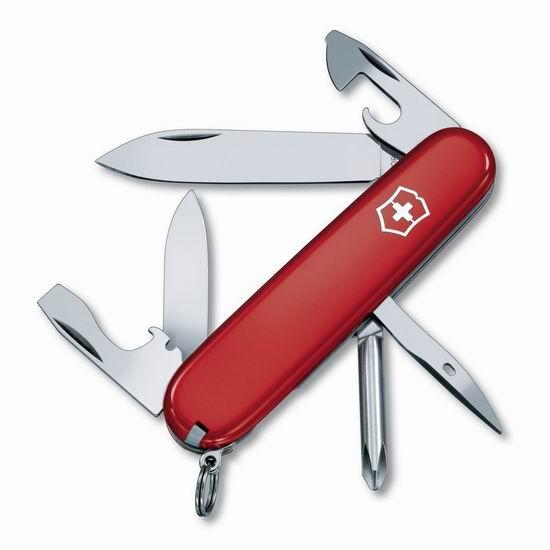 近史低价!瑞士 Victorinox 维氏 12功能 Tinker 工具刀5.4折 26.99加元!