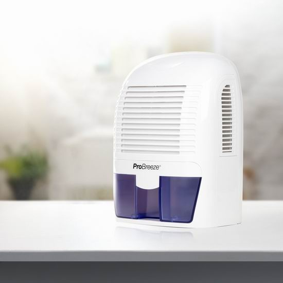 Pro Breeze 1500ml 便携式迷你超静音除湿机6.2折 79.99加元包邮!