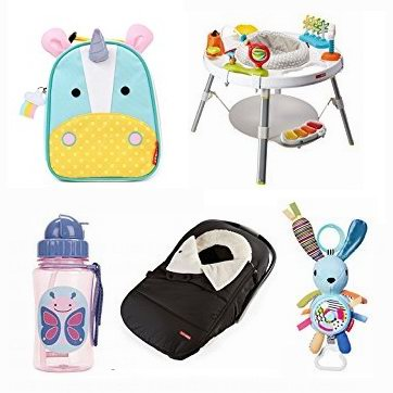 金盒头条:精选 Skip Hop 婴幼儿游戏椅、小书包、妈妈包、餐具、水杯、小玩具、保暖袋等5.6折起!