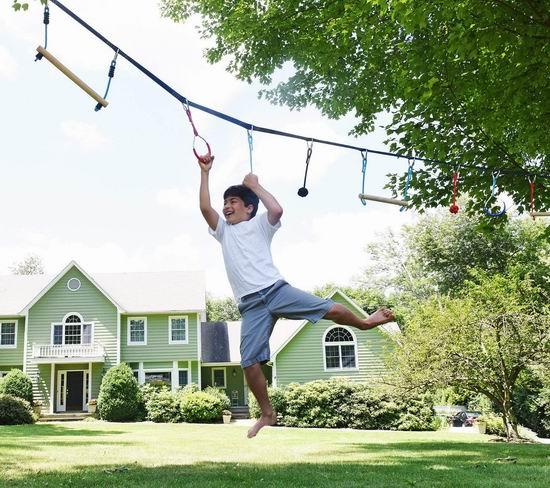 金盒头条:Ivation 45英尺 便携式 扁带吊猴绳 111.99加元包邮!