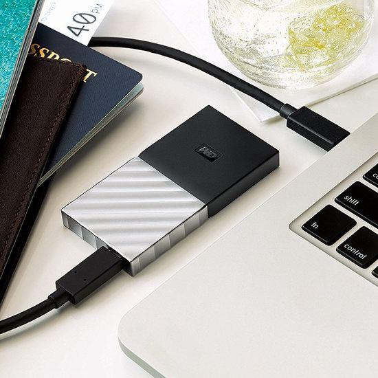 历史新低!Western Digital 西数 My Passport 超便携 256GB SSD 固态移动硬盘 99.99加元包邮!会员专享!