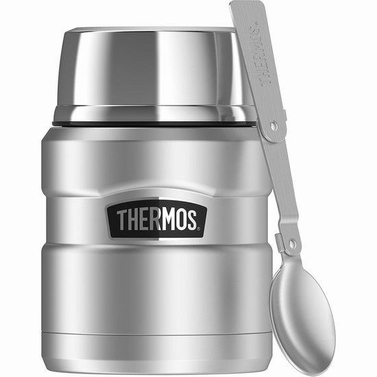 销量冠军!THERMOS 膳魔师 450ml 经典帝王 不锈钢午餐保温焖烧罐 23.99加元!