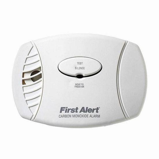 补货!历史新低!First Alert CO605A 一氧化碳探测报警器4折 14.79加元!