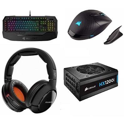 金盒头条:精选 Corsair、ROCCAT、SteelSeries 等品牌游戏键盘、鼠标、耳机、鼠标垫等4.1折起!