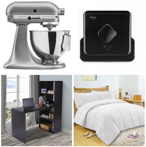 eBay精选上千款厨房家电、家具、居家用品等3.8折起!额外再打8折!
