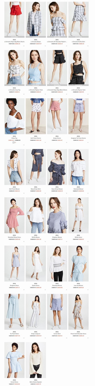 打造独特单品!J.O.A.时尚美衣 2.5折 22.79加元起特卖+包邮!