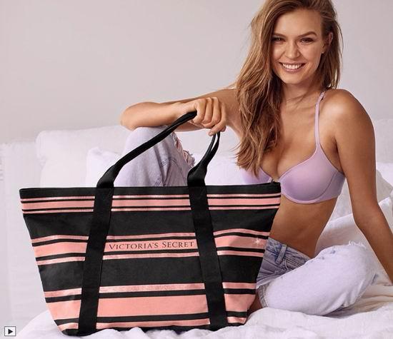 Victoria's Secret 维多利亚的秘密 第二件文胸5折,内裤买三送三,额外满送Sparkle手袋!