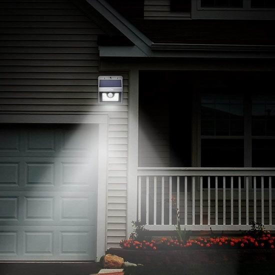 Litom 8 LED 太阳能防水运动感应灯 8.79加元限量特卖!