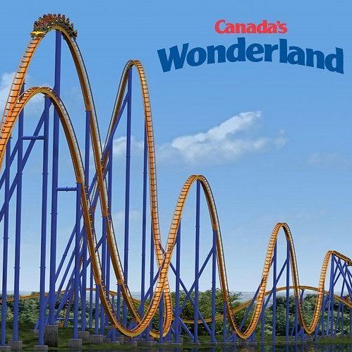 Canada's Wonderland 奇幻乐园 2019季票 72.99元特卖,新用户送2018年季票,续费送Fast Lane Plus+亲友单日票!