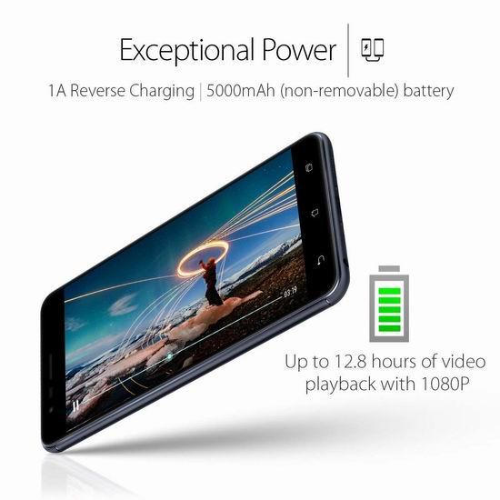 手慢无!历史新低!ASUS 华硕 Zenfone 3 鹰眼 ZE553KL 32GB 5.5英寸解锁版 双卡双待 双摄智能手机4.8折 229加元包邮!