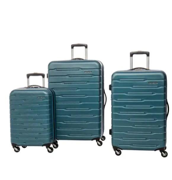双11补货速抢!Samsonite 新秀丽 In-Flight Tea 时尚硬壳拉杆行李箱3件套2.2折 187.49加元包邮!