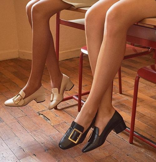 时髦百搭的网红鞋!Bally Janelle方扣乐福鞋、穆勒鞋 最高8.5折优惠,入唐嫣同款!