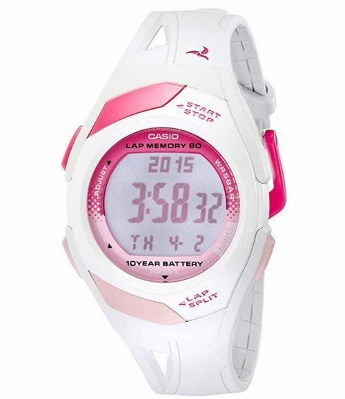Casio STR300-7粉色运动腕表 29.99加元,原价 37加元