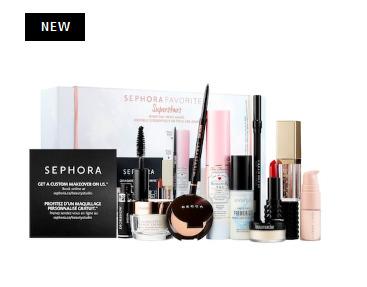 Sephora Favorites  Superstars 2018彩妆超值套装上新 售价 90加元(价值 172加元)