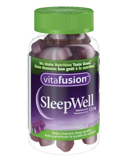 Vitafusion SleepWell好睡眠/褪黑素软糖 6.91加元,原价 8.29加元