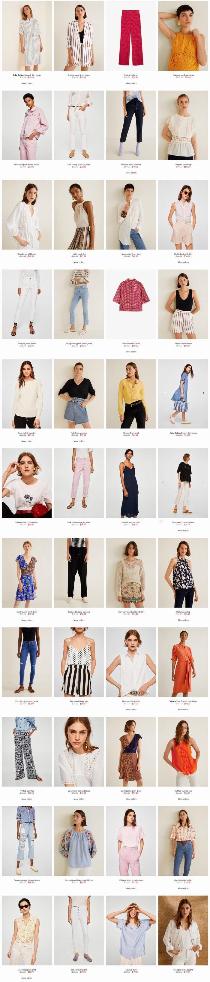 与众不同的漂亮!MANGO特卖区初秋服饰 4.4折起优惠!