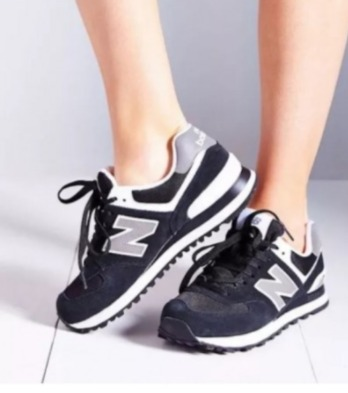 New Balance 574系列 女款复古跑鞋 82.5加元+满175加元立减25加元!