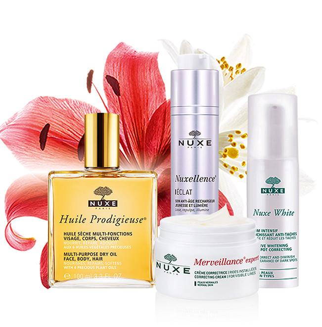 NUXE 欧树 蜂蜜洁面、玫瑰水、唇膜等护肤品 7.5折优惠!
