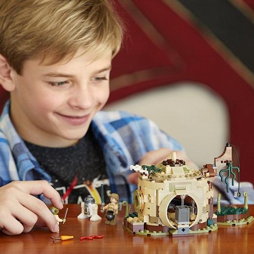 历史新低!LEGO 乐高75208 星战之尤达的小屋(229pcs)5.4折 19加元!