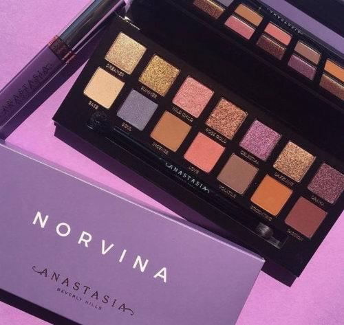 新款Anastasia Beverly Hills Norvina眼影盘上市 售价 55加元