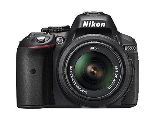 历史最低价!翻新 Nikon 尼康 D5300 单反相机套装(AF-S 18-55mm VR II镜头) 479加元包邮!