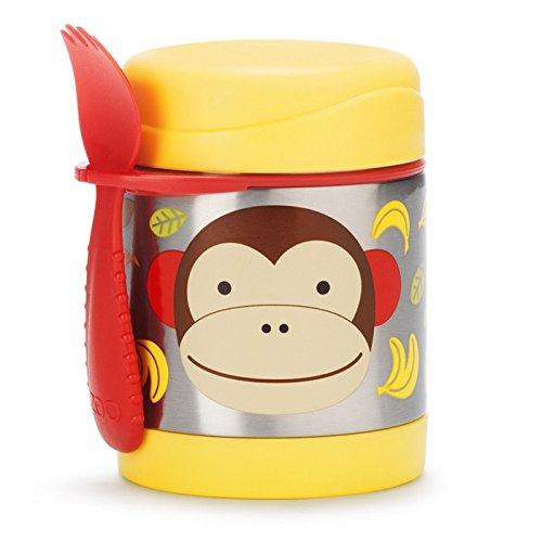 Skip Hop 超萌动物图案 幼儿午餐保温杯4.3折 10加元!