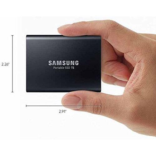 历史新低!Samsung 三星 T5 1TB/2TB 超大容量 便携式SSD固态硬盘 329.99-779.99加元包邮!