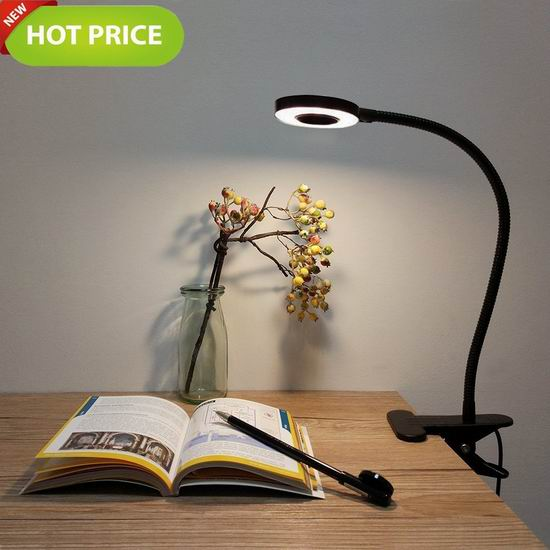 Foneso 夹式LED护眼台灯 13.99加元限量特卖!
