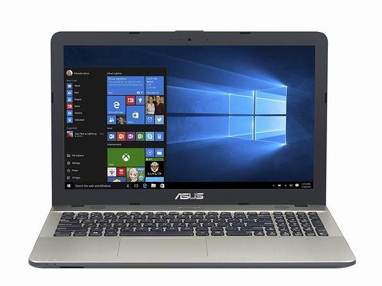 历史新低!ASUS 华硕 R541NA-RS01 15.6寸 轻薄笔记本电脑(4GB/500GB) 339.99加元包邮!