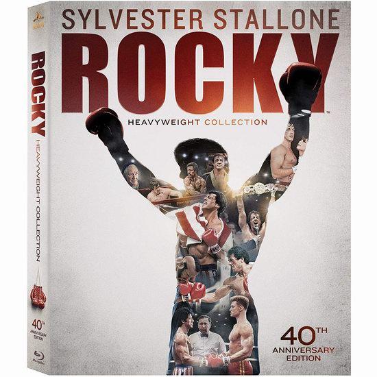 金盒头条:《Rocky: Heavyweight 洛奇》40周年全集蓝光影碟版5.1折 19.99加元!
