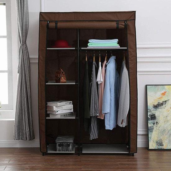 Homebi 便携式衣柜 24.34加元限量特卖并包邮!2色可选!
