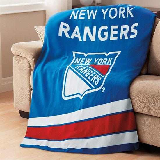 速抢!历史新低!Sunbeam NHL 冰球联盟 New York Rangers 多用途保暖电热毯3.8折 26.99加元!