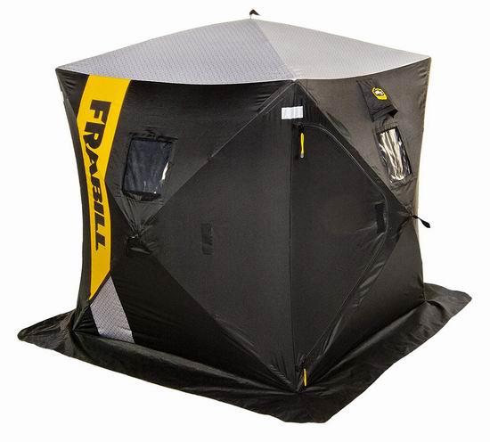 Frabill HQ 100 Hub 3人冰钓帐篷5.7折 108.71加元限量特卖并包邮!