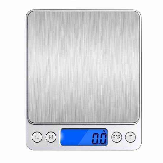 VersionTech 时尚不锈钢厨房秤5.3折 9.99加元限量特卖!