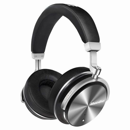 Bluedio 蓝弦 T4S 高阶版主动降噪 无线蓝牙耳机 41.99加元,原价 79.99加元,包邮