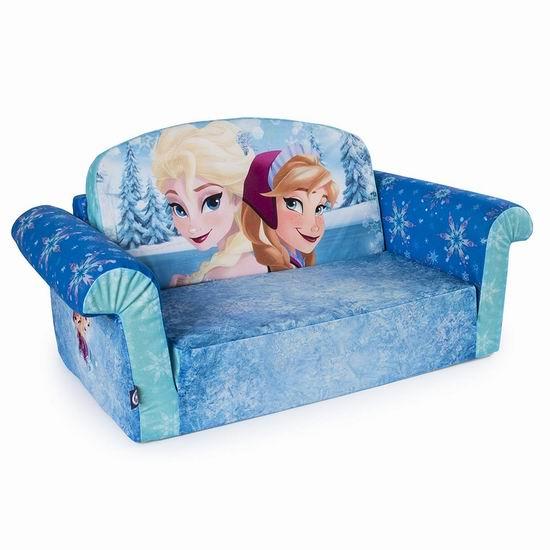 历史新低!Marshmallow 迪士尼冰雪奇缘 二合一儿童沙发 39.99加元包邮!