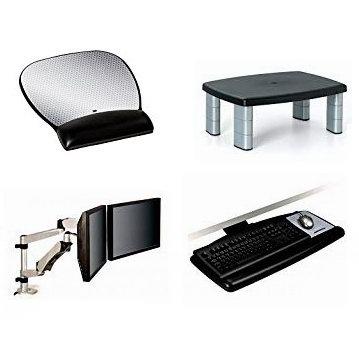 金盒头条:精选10款 3M 双屏显示器支架、显示器增高台、歇脚凳、鼠标垫、键鼠托盘等5.3折起!