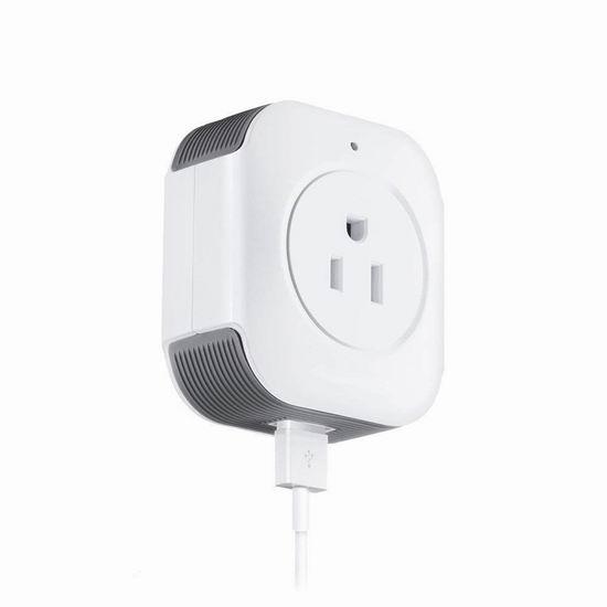 白菜价!历史新低!BUKELERN WiFi智能插座4.3折 11.99加元!