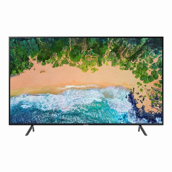 历史新低!Samsung 三星 UN58NU7100FXZC 58英寸 4K超高清 HDR智能电视(2018版)6.4折 798加元包邮!
