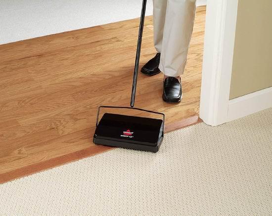 历史最低价!Bissell 2101C 地板/地毯 无绳手动扫地机4.2折 18加元!