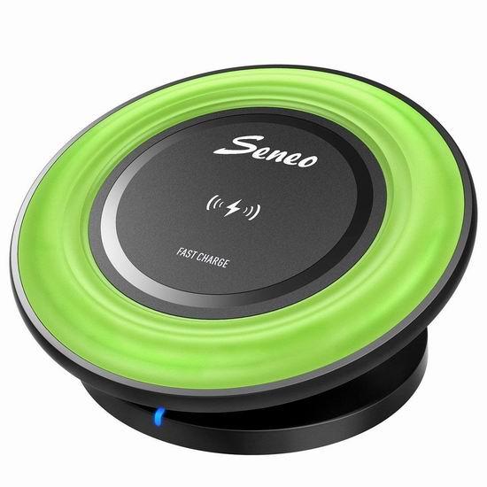 历史最低价!Seneo 二合一 Qi无线充电板3.7折 10.99加元清仓!