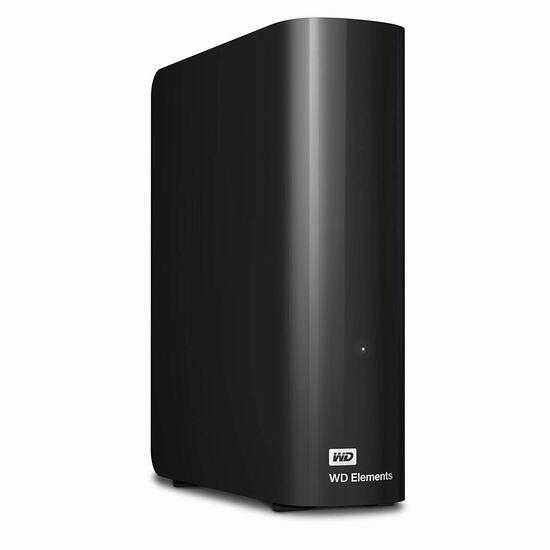 金盒头条:历史新低!WESTERN DIGITAL 西数 Elements 新元素系列 3.5英寸 4TB 台式移动硬盘 119.99加元包邮!