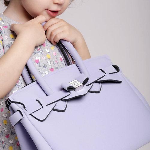 意大利经典SAVE MY BAG Miss 系列手提包 紫色款 114.4加元+满175加元立减25加元!