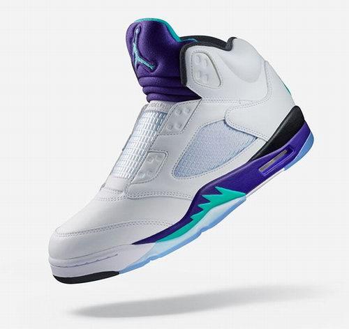 """Air Jordan 5 NRG """"Fresh Prince""""高帮运动鞋 东部时间 9月25日11点限量开抢!"""